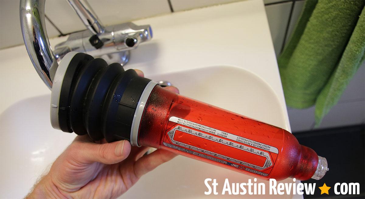 hydromax x30 water filling