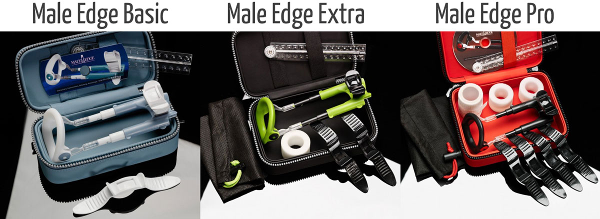 male edge basic, Male Edge extra or Male Edge pro