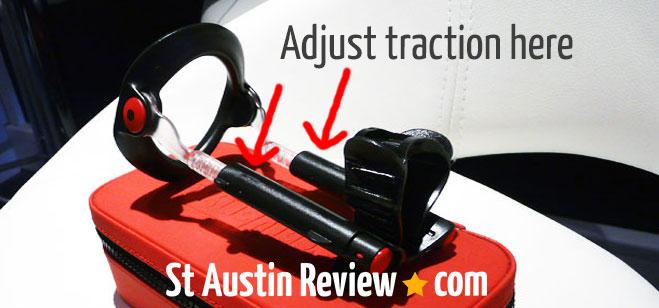 male edge traction adjustment