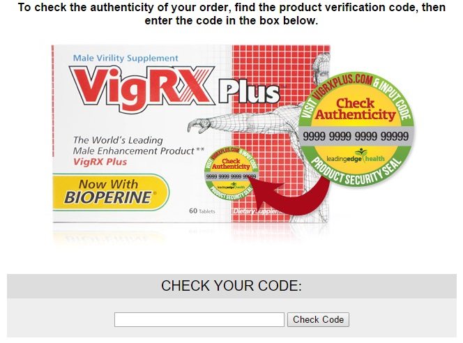 vigrxplus check your code