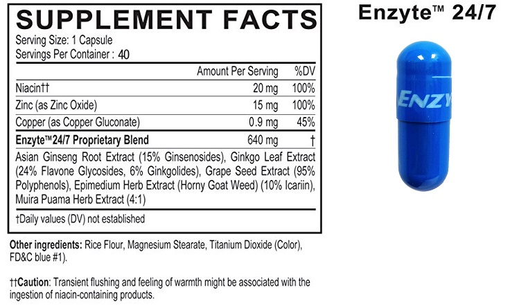 enzyte ingredients