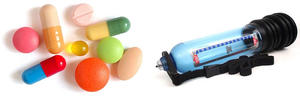 premature ejaculation pumps vs pills