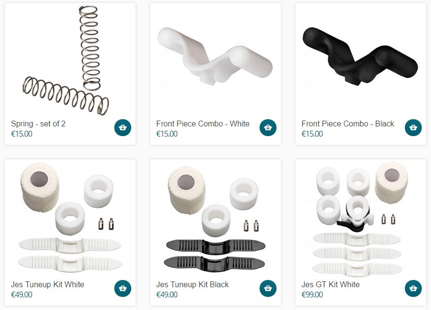 jes extender spare parts and accessories can be bought here