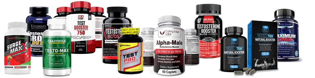 the market for testostorone booster supplement is huge