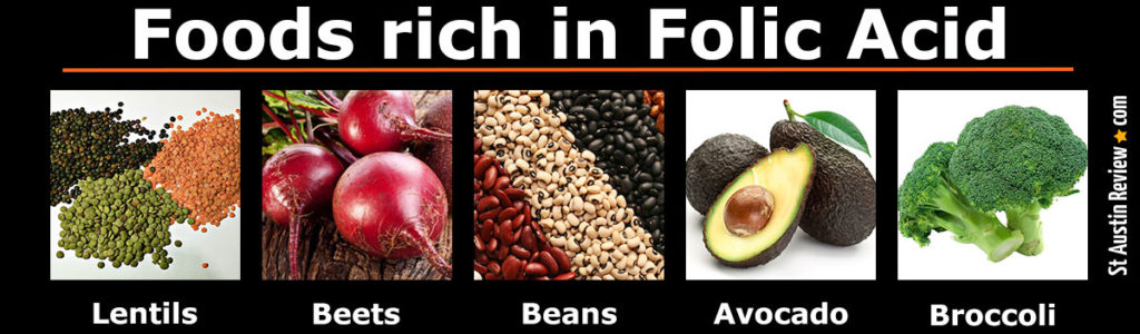 foods that contain folic acid