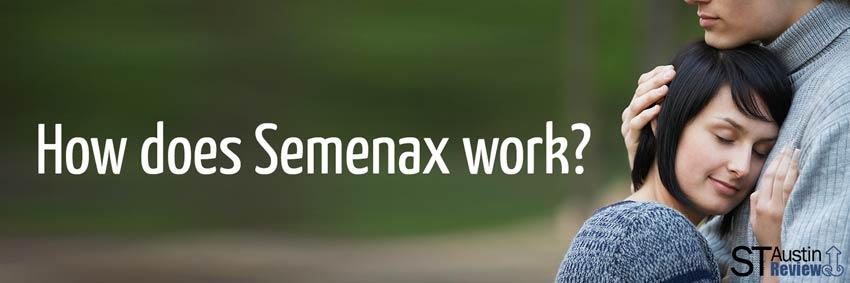 how does semenax work